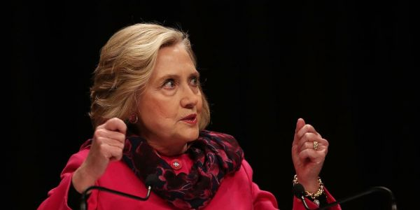 Hillary Clinton is sounding the alarm over China's efforts to covertly interfere with politics worldwide