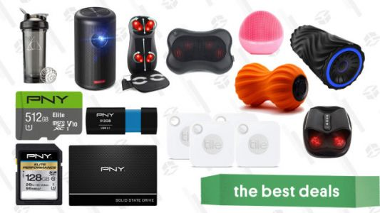 Thursday's Best Deals: PNY Gold Box, Tile Mate 4-Pack, Anker Nebula Capsule II, and More