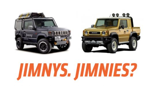 Suzuki Has Two Great Concept Jimnys to Show and One Is A Pickup