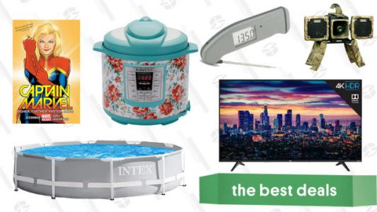 Sunday's Best Deals: Marvel Comics, Thermapen Mk4, TCL TV, and More