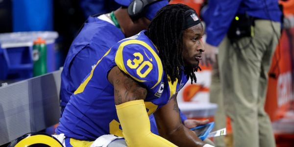 The Rams gave Todd Gurley one of the biggest running back contracts in NFL history, and then he disappeared in the playoffs and nobody knows why