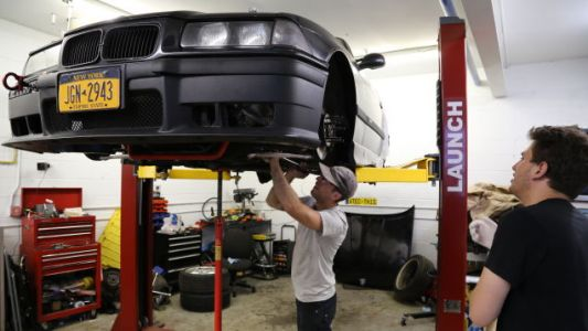 Building My BMW E36 M3 Rally Car Is a Race Itself