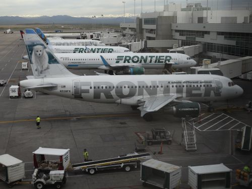 Frontier Airlines jet forced to make an emergency landing after a mysterious odor fills cabin