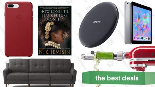 Saturday's Best Deals: Flash Storage, iPads, Apple Watches, Burrow Couches, and More