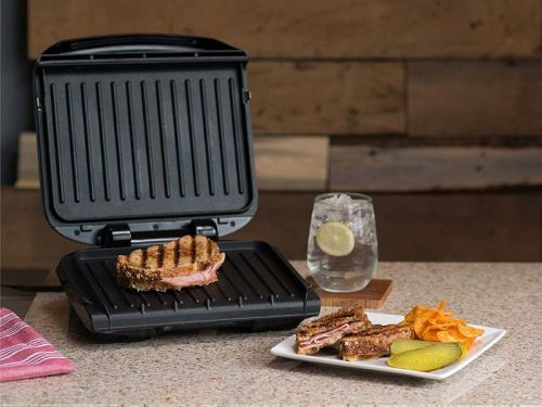 This $37 George Foreman grill is the only reason I eat healthy - it makes a balanced meal in under 10 minutes