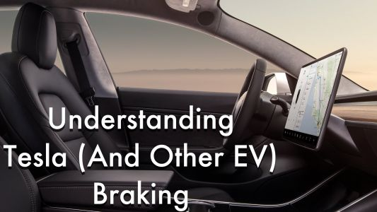 What You Need To Understand About Tesla Model 3 Braking - Or Any EV