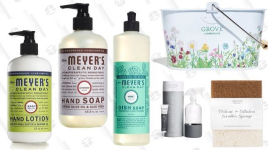 Spend $20 On Stuff You Need to Buy Anyway, Get a $30 Mrs. Meyer's Gift Set For Free