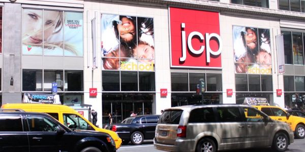 JC Penney is tumbling as guidance disappoints and cold weather weighs on sales