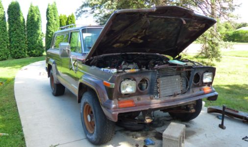 'Mission Creep' Is Threatening to Take My 1979 Jeep Cherokee Golden Eagle Project Into Infinity