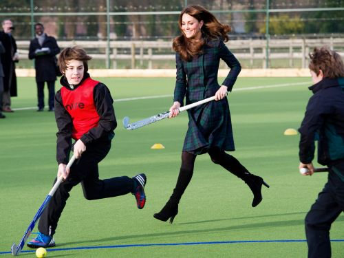 20 photos of royals playing sports while hilariously overdressed