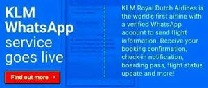 Now share flight-info with your inner circle using KLM's Family Updates on WhatsApp