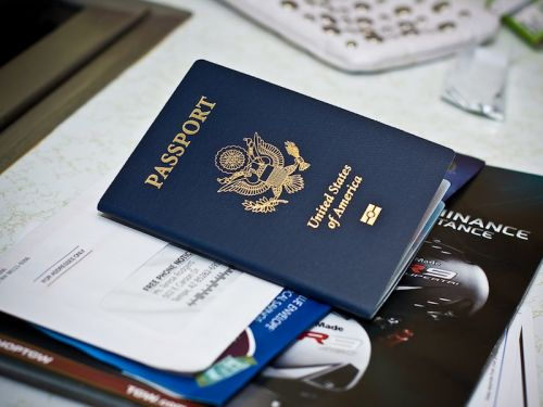 You probably shouldn't keep your passport in your carry-on bag