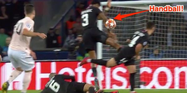 Alexi Lalas explained why handballs should be a simple call moments before a controversial VAR review knocked PSG out of Champions League