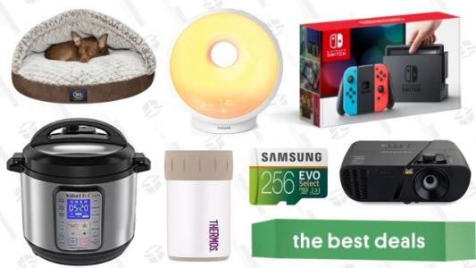 Wednesday's Best Deals: Nintendo Switch, Instant Pot, ViewSonic Projector, and More