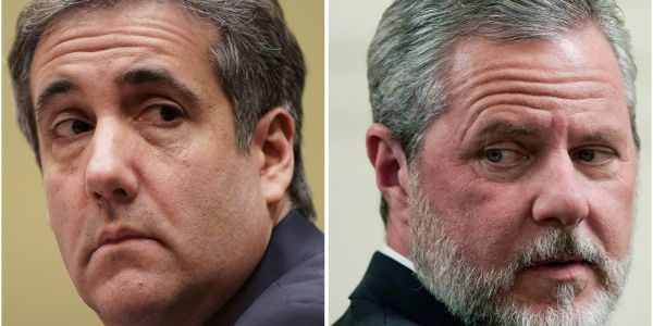 Michael Cohen claims he helped handle racy 'personal' photos for Trump ally and Liberty University president Jerry Falwell Jr