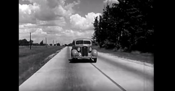 This Amazing Chevy Video from 1935 Uses an Abandoned House to Explain Why Strong Car Frames Are Good