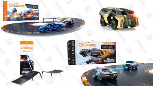 Live Your Life a Quarter Mile at a Time With Discounted Anki Racing Toys from Amazon