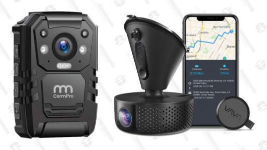 Now is a Good Time to Have Body Cams and Dash Cams Everywhere You Go, Now Discounted at Amazon