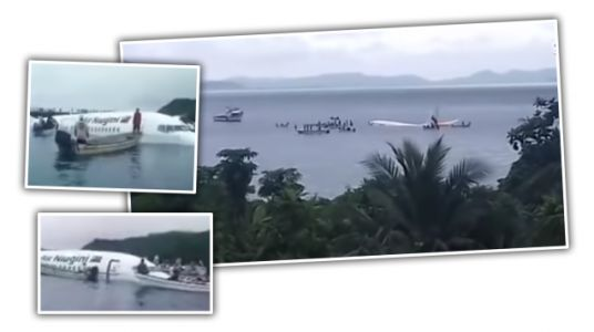 Local Boaters in Micronesia Save All Passengers From Plane Crash