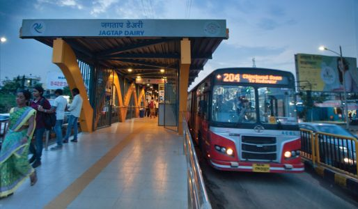 In India, the City of Pune is Making Space for Transit and People
