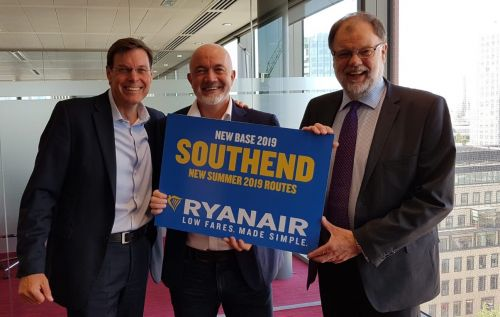 Ryanair To Open London Southend Base In s2019