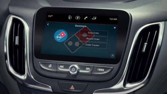 Domino's pizza-ordering app may soon come preloaded on your new car