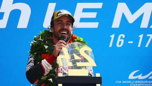 Fernando Alonso Calls His Win 'A Higher Level Than Any Other Victory In Le Mans'