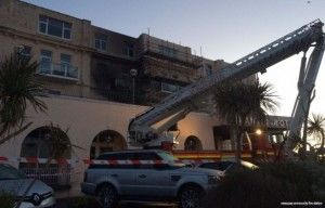 Atlantic hotel, Newquay evacuated all its guests after fire outbreak