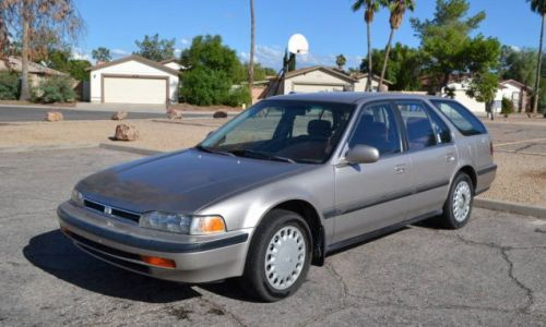 At $2,000, Could You Reach an Accord With the Seller of This 1993 Honda Accord LX Wagon?