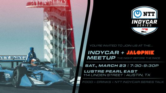 Come Hang Out With Jalopnik and IndyCar Before the Race in Austin This Weekend