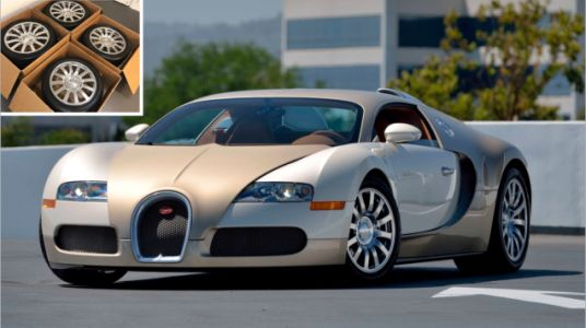 Please Consider This Set of Lightly Used Bugatti Veyron Wheels for $100,000