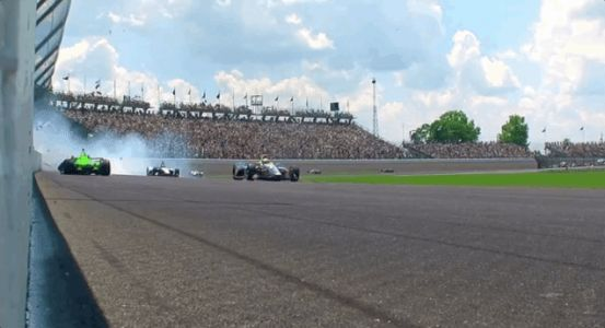 Danica Patrick Wrecks Out Of The Indianapolis 500, Her Final Race