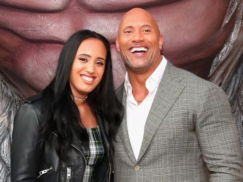 Dwayne Johnson's 16-year-old daughter wants to be a WWE wrestler - and he fully supports her