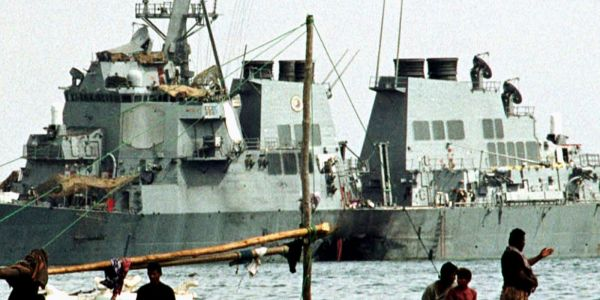 A US airstrike has killed the terror mastermind behind the deadly USS Cole bombing that killed 17 American sailors
