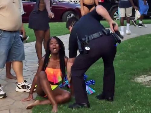 The black teen who was violently arrested at a pool party received a $148,000 settlement - and plans to throw another event