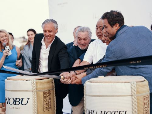 I stayed at Robert De Niro's ridiculously swanky new hotel in Ibiza - and it makes you feel like a celebrity, if you can afford it