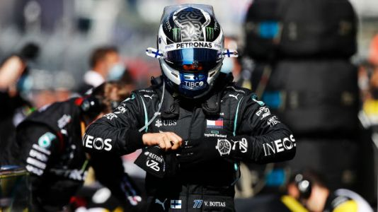 Valtteri Bottas Wins In Russia After Lewis Hamilton Handed Two Time Penalties
