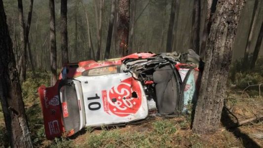 World Rally Championship Driver Kris Meeke Hospitalized After Nasty Crash