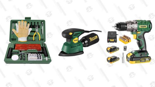 Finish the Job With up To 45% off Teccpo Tools