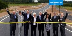 Great Yorkshire Way Airport Link Road Completed