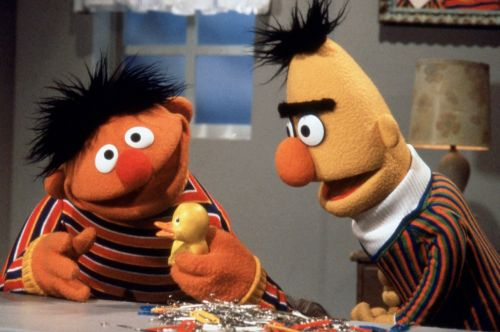 The organization behind 'Sesame Street' issued a statement regarding Bert and Ernie's sexuality: 'They remain puppets, and have no sexual orientation'