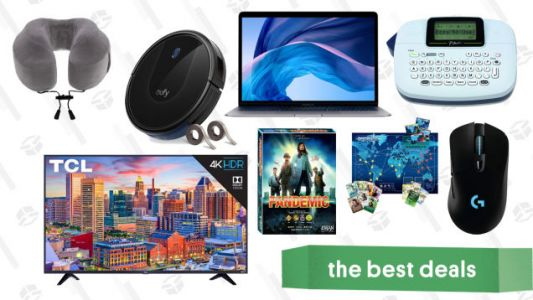 Monday's Best Deals: Macbook Air, Eufy RoboVac 30, Pandemic, 55