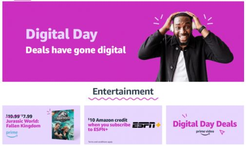 Amazon Digital Day 2018 Is Here, With One-Day Deals On Comics, Movies, Software, and More