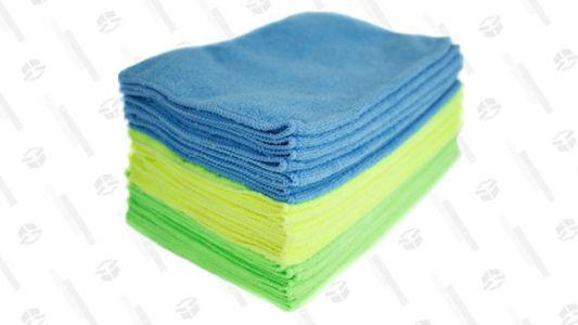 Stop Wasting Money on Paper Towels and Start Using These Microfiber Cleaning Cloths