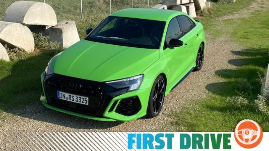 The 2022 Audi RS3 Is A Reminder Of The Glorious Madness Of ICE Cars