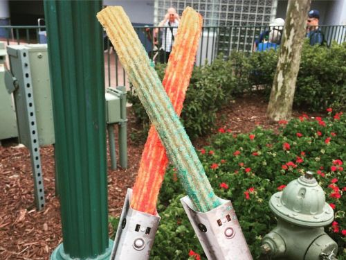 Disney's newest churro is essentially a Flamin' Hot Cheeto