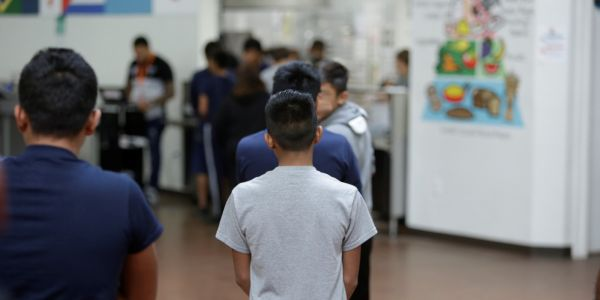 There are so many migrant children in one shelter a headcount is taking hours