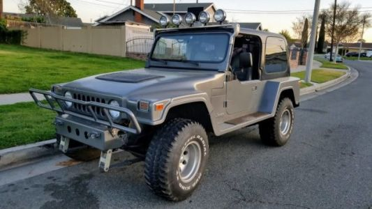 """At $7,500, Will This 1991 Jeep YJ """"Landrunner"""" Land a Buyer?"""
