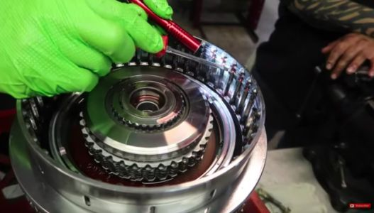 The Innards of This Chevy Silverado's Allison Transmission Prove That Witchcraft Is Real