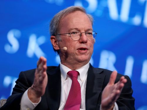 Google's ex-CEO Eric Schmidt says the internet will split in two by 2028